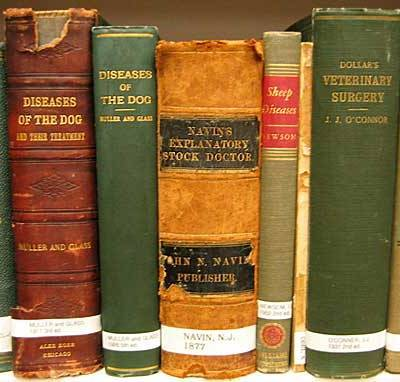 books in the MVHM collection