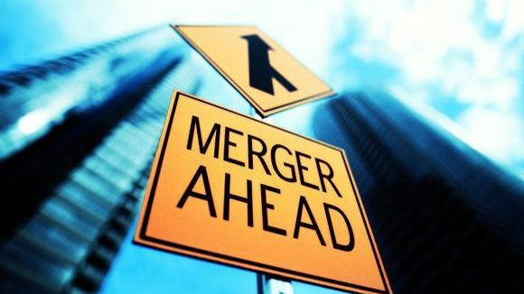 merger-ahead-sign