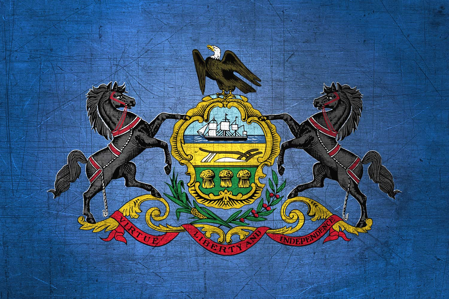 Pennsylvania-Flag-US-State-Metal-XL