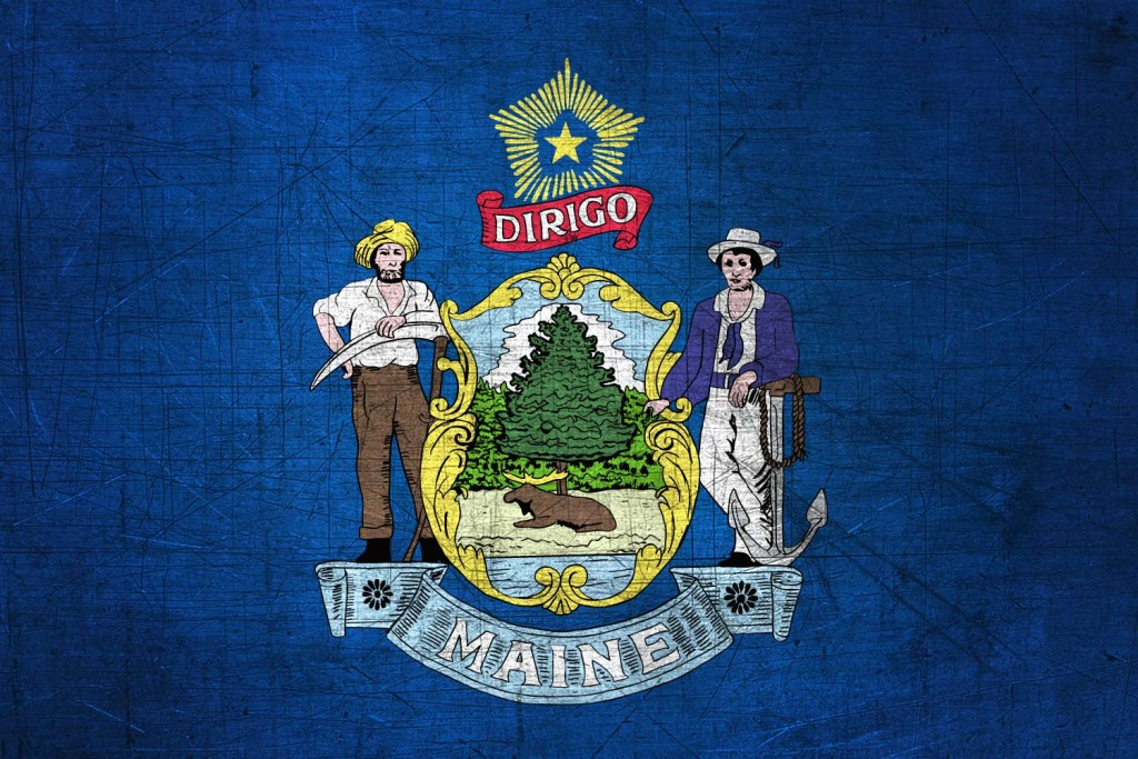 Maine-Flag-US-State-Metal-XL