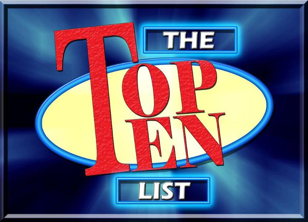 top ten list 101 fun jokes has a lot of funny top 10 lists as well as lots of other funny junk.