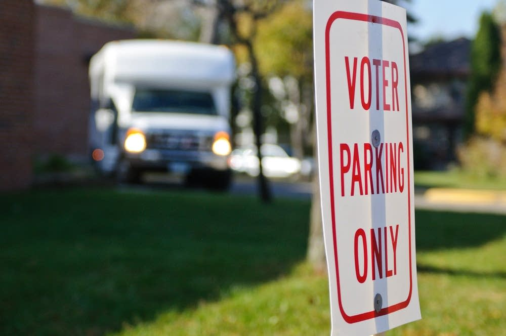 voter-parking-signs