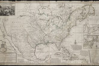 A map of the parts of America claimed by France under the names of Louisiana in 1720 by Herman Moll.