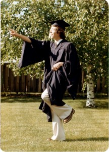Patrick on the evening of his high school graduation in 1976. Image courtesy Patrick Hamilton.