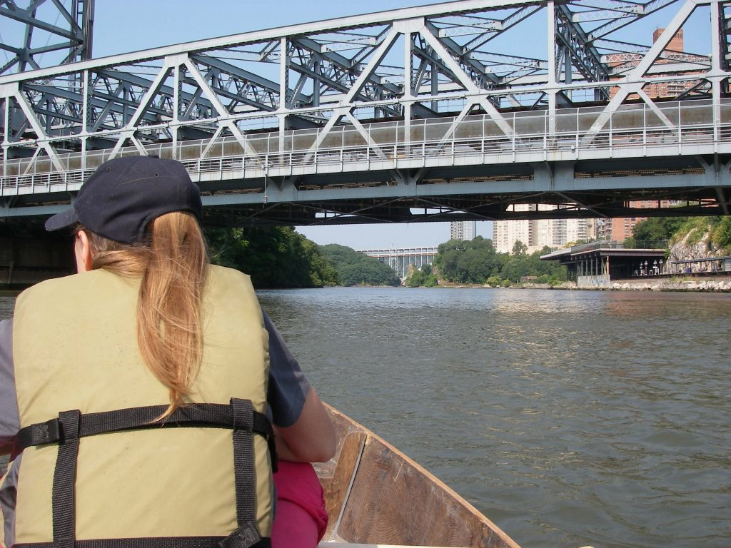 "Fig. 8. ""The current swept us north into Spuyten Duyvil,"" from The One Borough Ramble with Amanda Huron 9/9/2007."