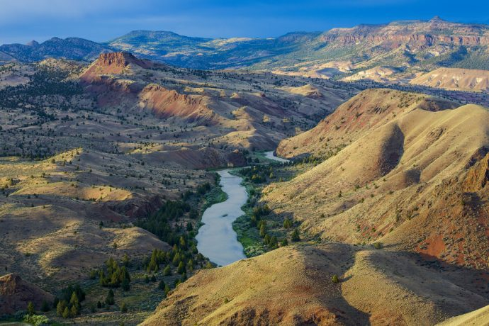 John Day River, Oregon. Photographer Bob Wick, BLM. (CC BY 2.0)
