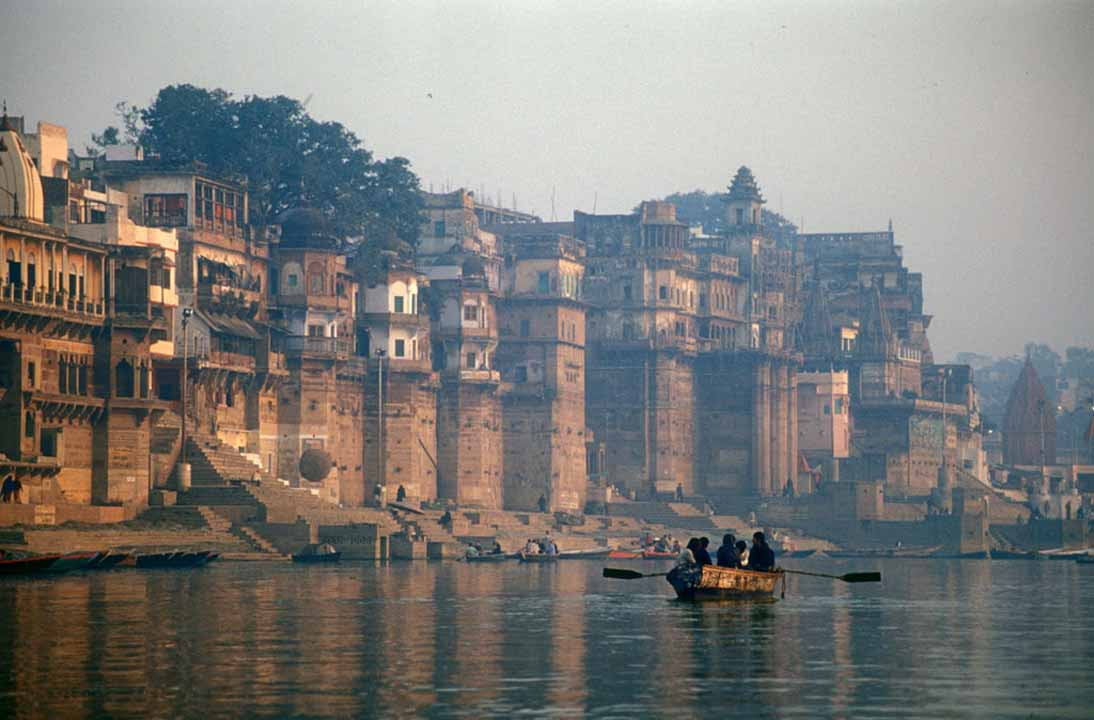 The Ganges, which flows through the sacred city of Varanasi, was granted human rights in March 2017. Photographer babasteve, via Flickr. CC BY-ND