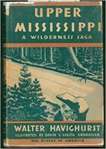 Cover of Upper Mississippi' by Walter Havighurst.