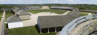 Historic Fort Snelling from Round Tower. Image courtesy of the author.
