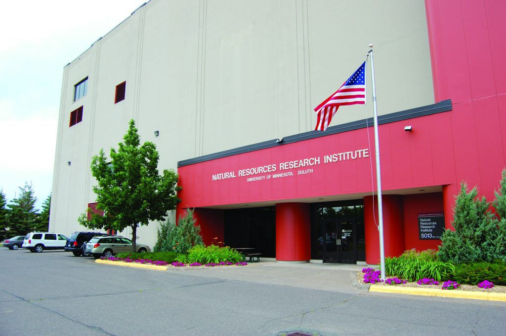 NRRI research and administrative staff is housed in a recycled Air Force air defense building in Duluth, Minnesota, with a second facility on the Iron Range in Coleraine, Minnesota, focused on minerals and renewable energy.