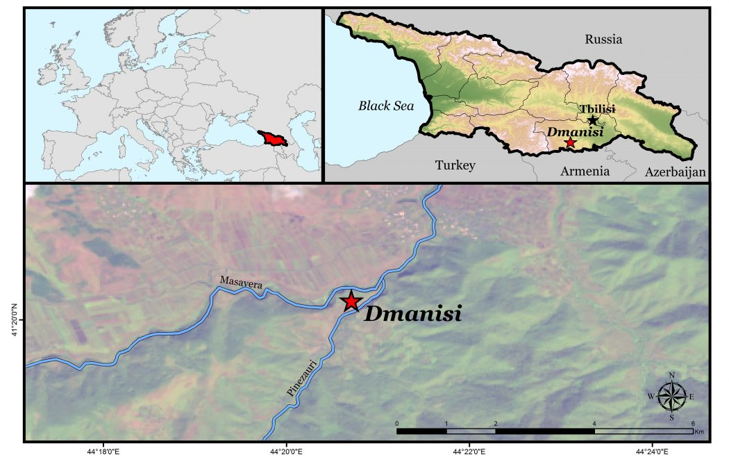 Dmanisi Georgia Map.Map Of Dmanisi Open Rivers Journal