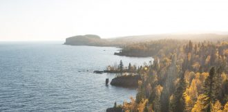 Tettegouche State Park, Silver Bay, Minnesota. Image courtesy of Conner Bowe.