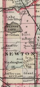 1886 Map by Frank A. Gray.