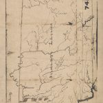 1818 Map Courtesy of Indiana State Library, Indiana Map Collection.
