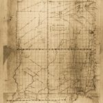 1840 Map Courtesy of Indiana State Library, Indiana Map Collection.