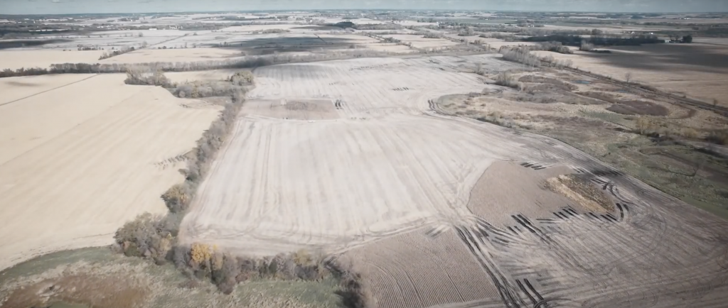 Sharing Our Roots acquired 100 acres of degraded cropland in October 2016 and has since been transitioning it to a resilient, regenerative system. Imaged courtesy of Sharing Our Roots