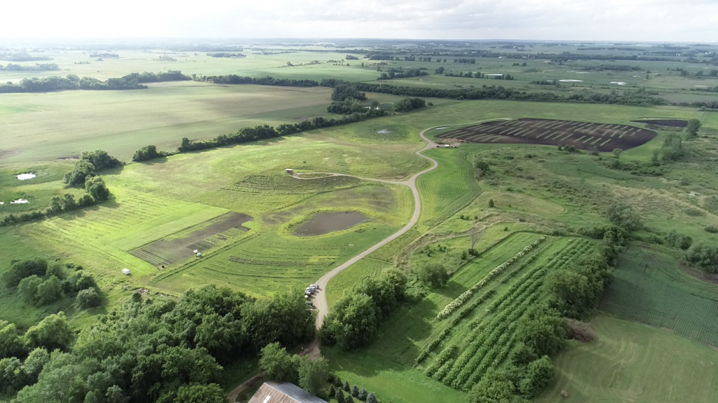 Sharing Our Roots farm which has been transitioning to a resilient, regenerative system since October 2016. Imaged courtesy of Sharing Our Roots.