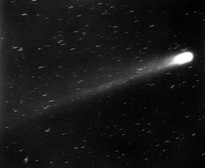 Fig. 5. Edward E. Barnard, Comet Halley, 1910. Edward Emerson Barnard Papers, Box 43, File 2, Vanderbilt University Special Collections and University Archives (Photo: Vanderbilt Photographic Archives).