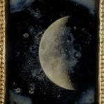 Fig. 6. John Adams Whipple, View of the Moon, February 26, 1852. Quarter plate daguerrotype. Harvard College Observatory, OB-7 (Photo: Harvard).
