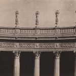 Fig. 8. The Colonnade of Stars, from Stella Perry, The Sculpture and Mural Decoration of the Exposition, 1915, 51.