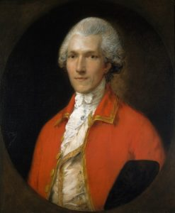 Fig. 12. Thomas Gainsborough, Sir Benjamin Thompson (later Count Rumford), 1783. Oil on canvas, 29 13/16 x 24 11/16 in. (75.7 x 62.7 cm), Harvard Art Museums/Fogg Museum, Cambridge, MAssachusetts. Bequest of Edmund C. Converse. Imaging Department © President and Fellows of Harvard College.