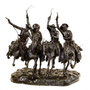 Fig. 9. Frederic Remington, Coming through the Rye, 1902. Bronze, 30 7/8 in. Amon Carter Museum of American Art, Fort Worth, Texas. 1961.23.