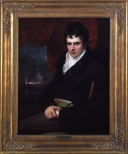 Fig. 3. Benjamin West,Robert Fulton, 1806. Oil on canvas, 46 x 38 inches. Fenimore Art Museum, Cooperstown, New York. Gift of Stephen C. Clark. N0218.1961. Photograph by Richard Walker.