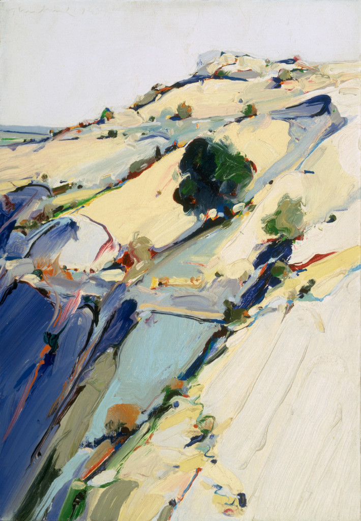 City River Mountain Wayne Thiebaud S California