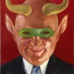 Of Masks, Mockery, and Modernism: Alexander Z. Kruse's <i>Self-Portrait of an Art Critic</i>