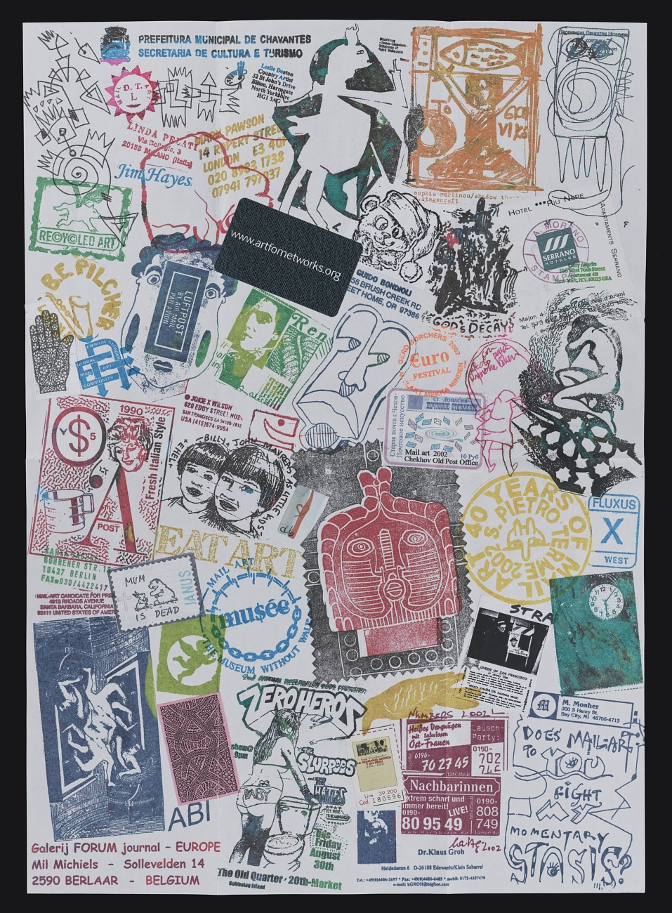 Bridging the Distance: Teaching and Curating with Mail Art from the Archives of American Art
