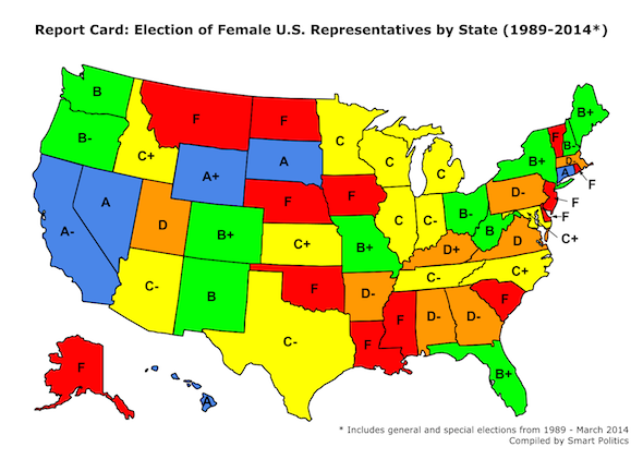 Gender Equality in the US House: A State-by State Quarter ...